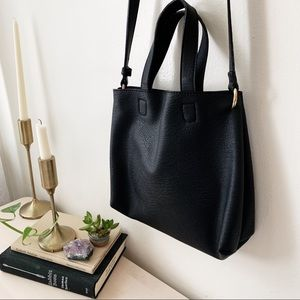 Urban Outfitters Black Tote Bag